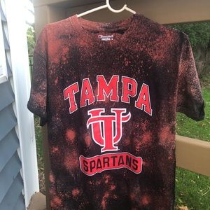 Champion University of Tampa Distressed Tee